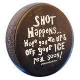 REAL Official Hockey Puck